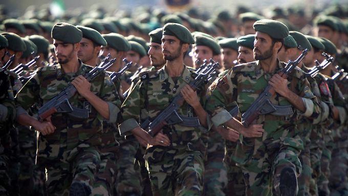 Bei den Festgenommenen handelt es sich um Mitglieder der iranischen Revolutionsgarden.
