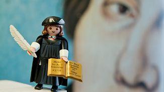 Kaum zu glauben, aber wahr: Spielzeug-Luther bricht alle Rekorde