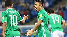 Confed-Halbfinale winkt: Mexiko müht sich zu Sieg gegen Neuseeland