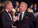 Boris Becker ist auf den roten Teppichen dieser Welt zu Hause.