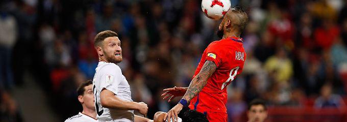 Harmlos, aber glücklich: DFB-Elf trotzt Chilenen-Power