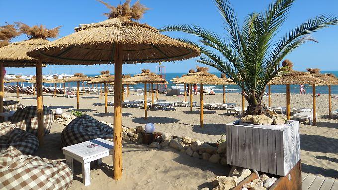 Der Strand von Sweti Wlas.