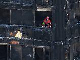 Brand mit 79 Toten: Brennender Kühlschrank löste Grenfell-Feuer aus