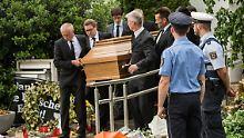 Leerer Sarg aus Haus getragen: Kohls Leichnam immer noch in Oggersheim