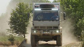 Der Steyr 12M18 kommt durch die ganze Welt.
