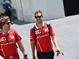 """""""Ich bin glücklich hier"""": Vettel bekennt sich zu Ferrari"""