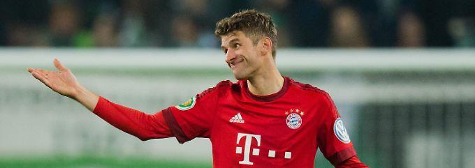 Thomas Müller trifft zum Saisonauftakt mit seinen Bayern auf die Werkself aus Leverkusen.