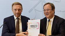 CDU stimmt zu 100 Prozent zu: Schwarz-Gelb in NRW steht