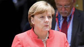"""Wahlkampfthema """"Ehe für alle"""": Merkel rückt von Linie der Union ab"""