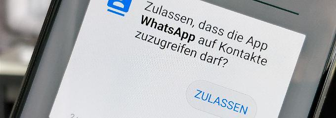 Gericht: Nutzer verantwortlich: Kontakte-Weitergabe an Whatsapp illegal