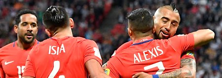Arturo Vidal und Alexis Sanchez fürchten sich nicht vor dem Duell mit Weltfußballer Cristiano Ronaldo - die chilenischen Superstars haben das Finale im Blick.