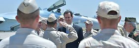 Machthaber lange nicht gesehen: Assad besucht russischen Stützpunkt