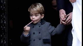 Promi-News des Tages: Spezial-Nanny soll Prinz George bändigen
