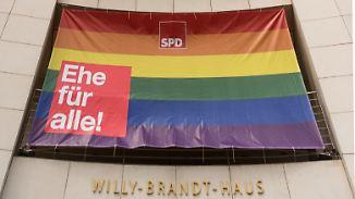 Frust in Union nach Merkels Kurskorrektur: Bundestag stimmt Freitag über Ehe für alle ab
