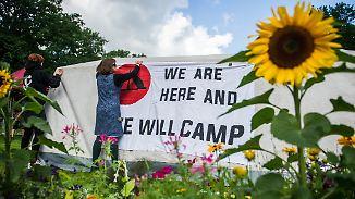 Polizei will Protest nicht dulden: Richter heben Komplettverbot von G20-Camp auf