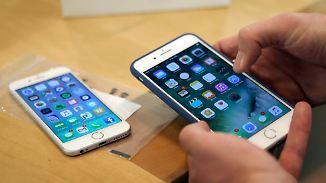 Zahl der Neukunden sinkt: Apple setzt beim iPhone auf Spannung