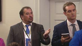 Trump-Sprecherin unterstellt Lügen: US-Reporter platzt bei Pressekonferenz der Kragen