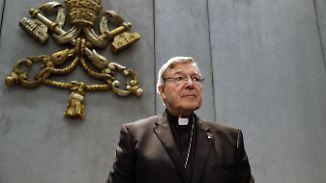 Nummer drei des Vatikans: Papst beurlaubt Finanzchef nach Missbrauchsvorwürfen