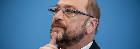 Enttäuschende Werte für Schulz: SPD-Parteitag bleibt ohne Effekt