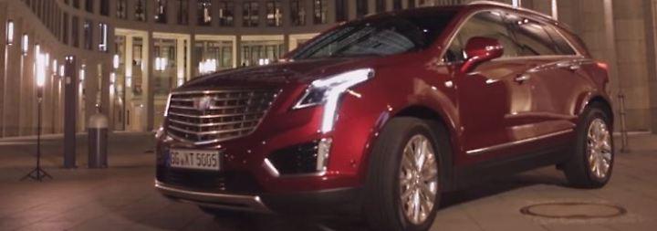 Bulliger SUV mit sanftem Fahrgefühl: Cadillac XT5 fällt bei deutschen Kunden durch