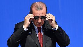 """Deutschland verbietet Erdogan-Auftritt: Türkei nennt Entscheidung """"schweren Fehler"""""""