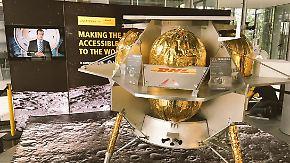 Auf Nimmerwiedersehen: Deutsche Post will Pakete zum Mond schicken