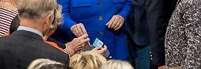 """""""Heute ist ein großer Tag"""": Bundestag beschließt Ehe für alle - Merkel stimmt dagegen"""