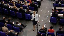Der Bundestag sagt: Geh endlich: Steinbachs letzte Demütigung