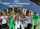 Sieg für die Ewigkeit - mit 21: Deutsche EM-Helden feiern stilvoll