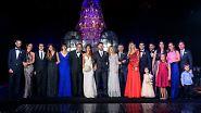 Zur Hochzeit in Messis Heimatstadt Rosario reisen die Familien des Paares an.