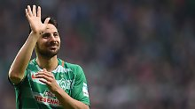 """Werder verzichtet auf """"Legende"""": Pizarro passt nicht mehr ins Profil"""