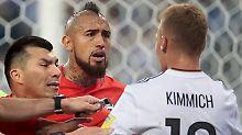 """""""Weniger reden, mehr spielen"""": Hitzkopf Vidal verpasst Kimmich 'ne Ansage"""