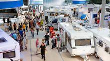 Auch in diesem Jahr werden auf der Caravan-Messe in Düsseldorf mehr als 200.000 Besucher erwartet.