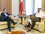 Krise am Golf: Gabriel schüttet Katar mit Lob zu