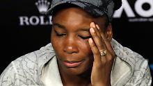 Kampf mit den Erinnerungen: Venus Williams leidet in Wimbledon