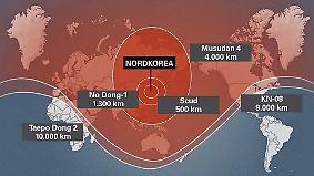 """Kim: """"Jedes Ziel der Welt"""": Reichweite der nordkoreanischen Bedrohung wächst"""