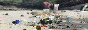"""Galt einst als Paradies, jetzt ist er """"eine große Schande"""": der Strand von Ko Si Chang in Thailand."""