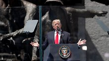 """Gegen Terror und Bürokratie: Trump ruft Westen zum """"Kampf"""" auf"""