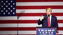 Vorwurf des Wahlbetrugs: US-Staaten lassen Trump auflaufen