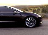 Härtetest für Elektro-Pionier: Teslas Model 3 geht in Serie