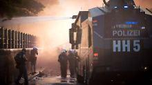 Eskalation am Abend erwartet: Hamburg fordert mehr Polizisten an