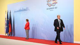 Kleine Kreise statt G20: Trump handelt nach eigener Agenda