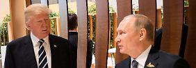 Das erste Treffen in Hamburg: Wie Trump sich Putin vorsichtig nähert