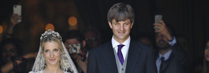 Ernst August junior und Ekatarina von Hannover sind jetzt auch kirchlich verheiratet.
