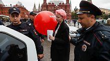 Kampagne unterbunden: Russlands Polizei setzt Nawalny-Getreue fest
