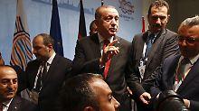 Der wütende Präsident: Erdogan zerlegt den Gipfelkompromiss