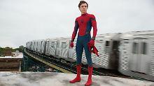 """Tom Holland ist Spider-Man: """"Ich gebe gern ein bisschen an"""""""