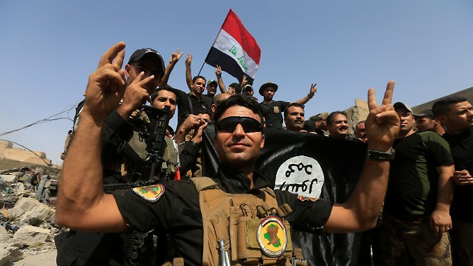 IS-Hochburg in Trümmern: Irakische Armee erobert Mossul zurück