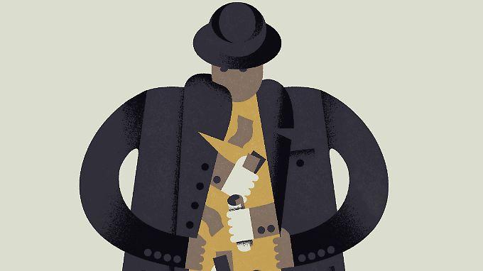 Kriminelle unterm Deckmantel: Mit der Chef-Masche zocken Betrüger auch in Deutschland viele Firmen ab.