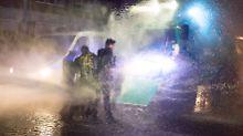 Fake-News rund um G20: Von erblindeten Polizisten und Panzern